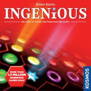 Buy Ingenious only at Bored Game Company.