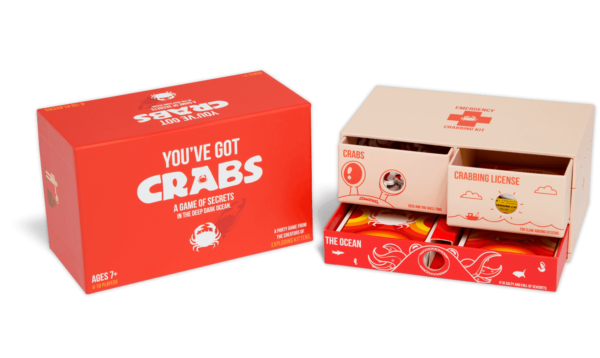 Buy You've Got Crabs only at Bored Game Company.