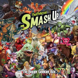 Buy Smash Up: The Bigger Geekier Box only at Bored Game Company.