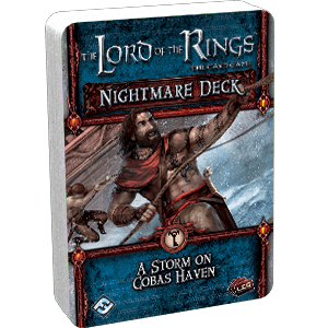 Buy The Lord of the Rings: The Card Game – Nightmare Deck: A Storm on Cobas Haven only at Bored Game Company.