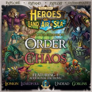 Buy Heroes of Land, Air & Sea: Order and Chaos only at Bored Game Company.