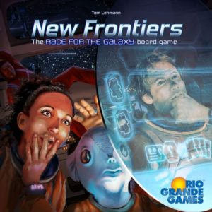 Buy New Frontiers only at Bored Game Company.