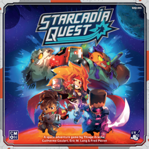 Buy Starcadia Quest only at Bored Game Company.