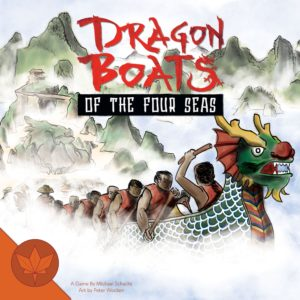 Buy Dragon Boats of the Four Seas only at Bored Game Company.