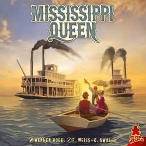 Buy Mississippi Queen only at Bored Game Company.
