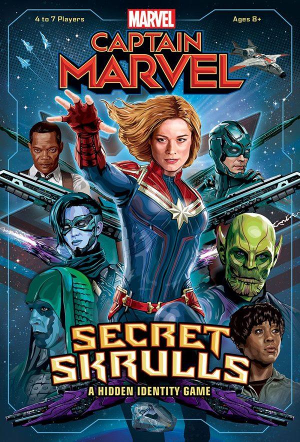 Buy Captain Marvel: Secret Skrulls only at Bored Game Company.