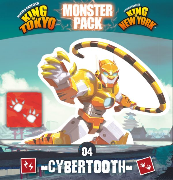 Buy King of Tokyo/New York: Monster Pack – Cybertooth only at Bored Game Company.