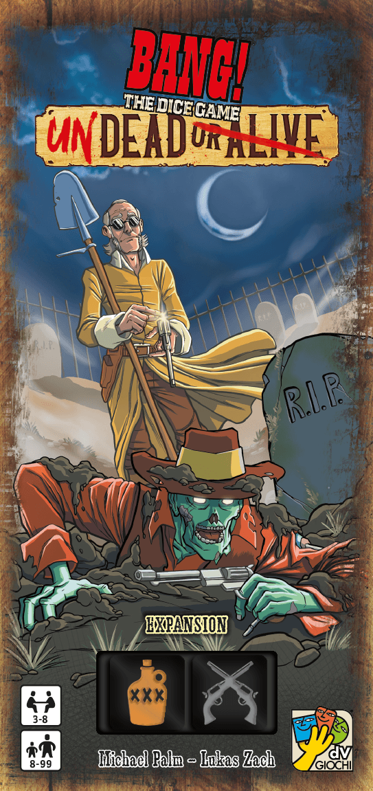 Buy BANG! The Dice Game: Undead or Alive only at Bored Game Company.