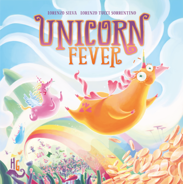 Buy Unicorn Fever only at Bored Game Company.