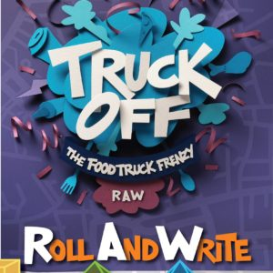 Buy Truck Off: The Food Truck Frenzy Roll And Write only at Bored Game Company.