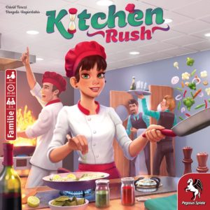 Buy Kitchen Rush (Revised Edition) only at Bored Game Company.