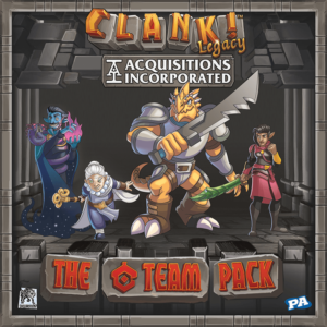 "Buy Clank! Legacy: Acquisitions Incorporated – The ""C"" Team Pack only at Bored Game Company."