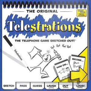 Buy Telestrations only at Bored Game Company.