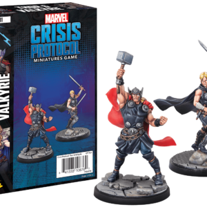Buy Marvel: Crisis Protocol – Thor and Valkyrie only at Bored Game Company.