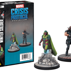 Buy Marvel: Crisis Protocol – Vision and Winter Soldier only at Bored Game Company.