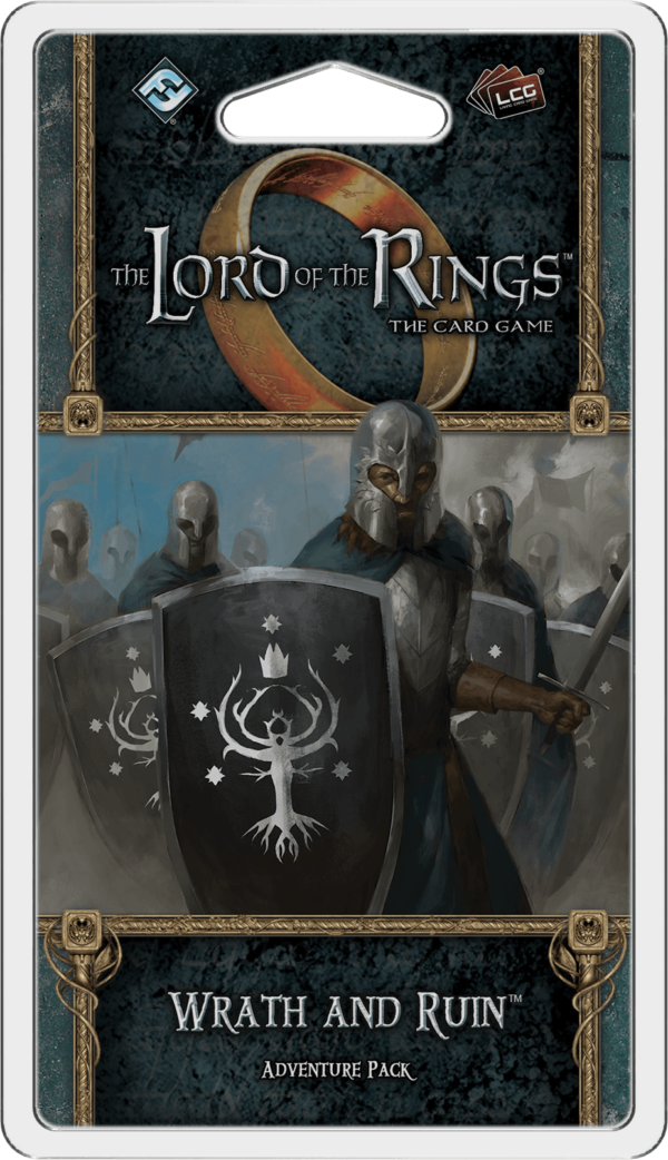 Buy The Lord of the Rings: The Card Game – Wrath and Ruin only at Bored Game Company.