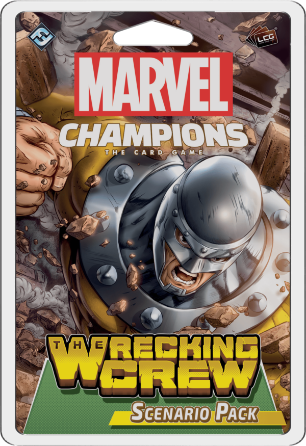 Buy Marvel Champions: The Card Game – The Wrecking Crew Scenario Pack only at Bored Game Company.