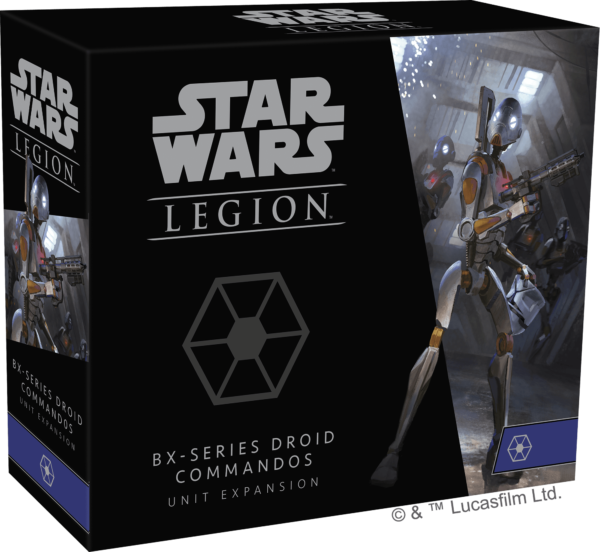 Buy Star Wars: Legion – BX-series Droid Commandos Unit Expansion only at Bored Game Company.