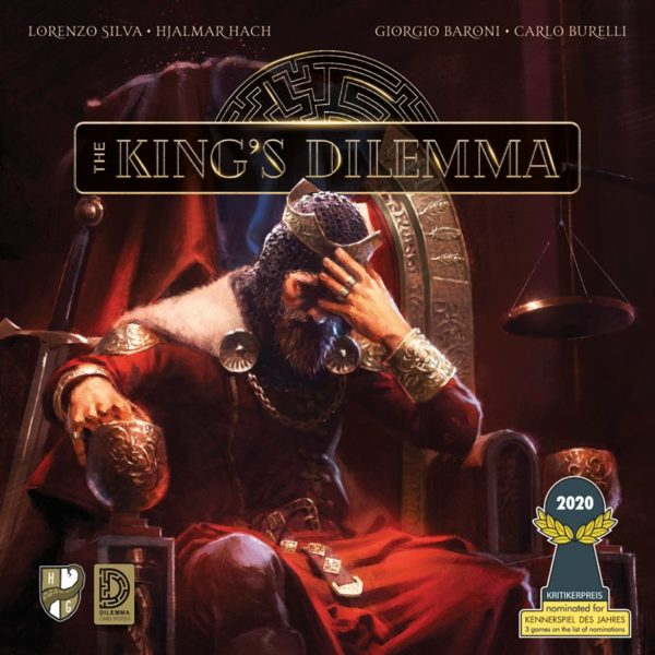 Buy The King's Dilemma only at Bored Game Company.