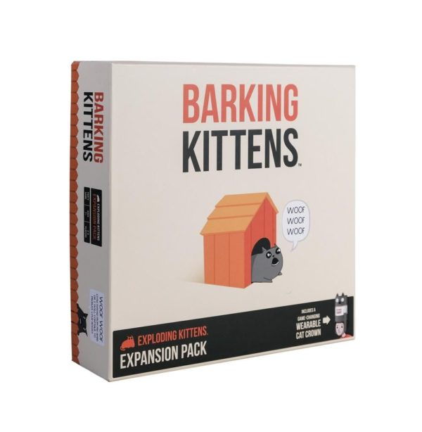 Buy Exploding Kittens: Barking Kittens only at Bored Game Company.