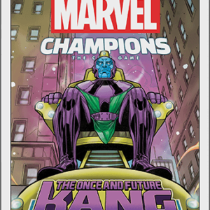 Buy Marvel Champions: The Card Game - The Once and Future Kang Scenario Pack only at Bored Game Company.