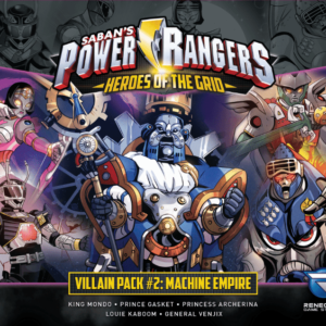 Buy Power Rangers: Heroes of the Grid – Villain Pack #2: Machine Empire only at Bored Game Company.