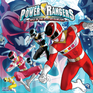 Buy Power Rangers: Heroes of the Grid – Rise of the Psycho Rangers only at Bored Game Company.