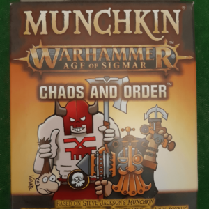 Buy Munchkin Warhammer: Age of Sigmar – Chaos and Order only at Bored Game Company.