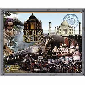 Buy India Rails only at Bored Game Company.