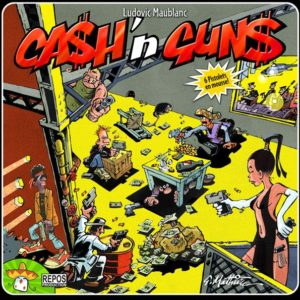 Buy Ca$h 'n Gun$ only at Bored Game Company.