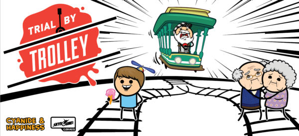Buy Trial by Trolley only at Bored Game Company.