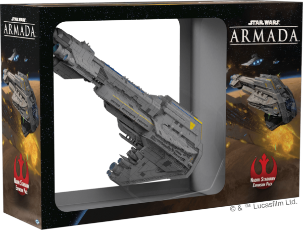 Buy Star Wars: Armada – Nadiri Starhawk Expansion Pack only at Bored Game Company.