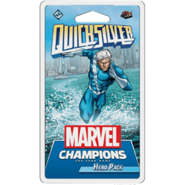 Buy Marvel Champions: The Card Game – Quicksilver Hero Pack only at Bored Game Company.