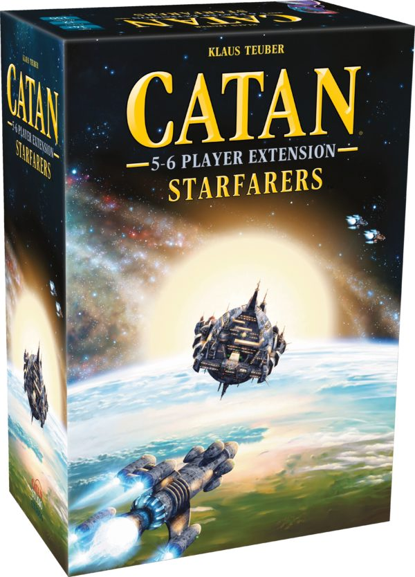 Buy Catan: Starfarers – 5-6 Player Extension only at Bored Game Company.