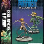 Buy Marvel: Crisis Protocol – Angela & Enchantress only at Bored Game Company.