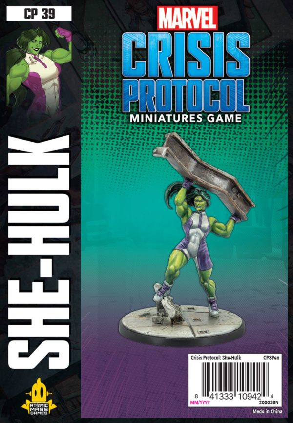 Buy Marvel: Crisis Protocol – She-Hulk only at Bored Game Company.