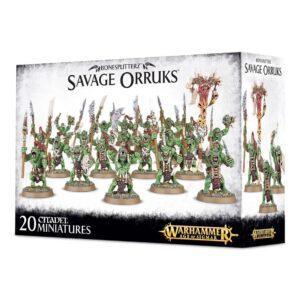 Buy Bonesplitterz Savage Orruks only at Bored Game Company.