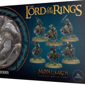 Buy The Lord Of The Rings: Warg Riders only at Bored Game Company.