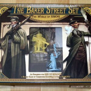 Buy The World of SMOG: Rise of Moloch – The Baker Street Set only at Bored Game Company.