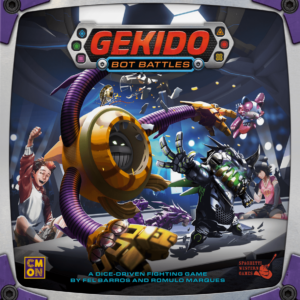 Buy Gekido: Bot Battles only at Bored Game Company.