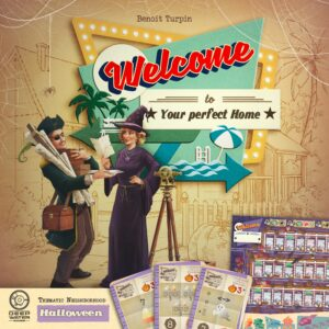 Buy Welcome To...: Halloween Thematic Neighborhood only at Bored Game Company.