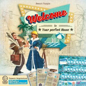 Buy Welcome To...: Winter Wonderland Thematic Neighborhood only at Bored Game Company.