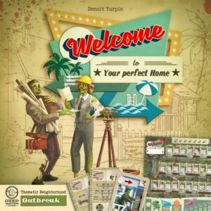Buy Welcome To...: Outbreak Thematic Neighborhood only at Bored Game Company.