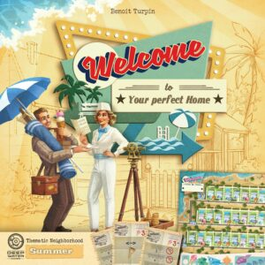 Buy Welcome To...: Summer Thematic Neighborhood only at Bored Game Company.
