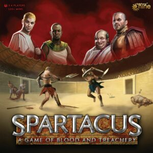 Buy Spartacus: A Game of Blood and Treachery only at Bored Game Company.