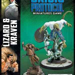 Buy Marvel: Crisis Protocol – Lizard & Kraven only at Bored Game Company.