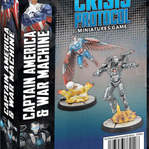 Buy Marvel: Crisis Protocol – Captain America & War Machine only at Bored Game Company.
