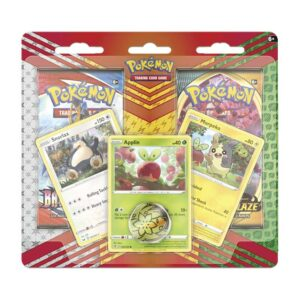 Buy Pokémon TCG: Snorlax, Morpeko & Applin Cards with 2 Booster Packs & Coin only at Bored Game Company.
