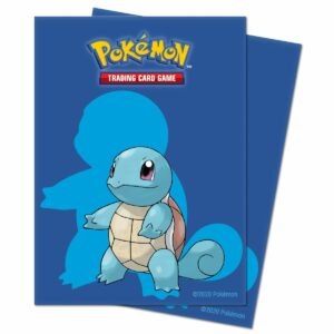 Squirtle Standard Deck Protector Sleeves (65ct) for Pokémon