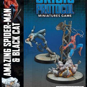 Buy Marvel: Crisis Protocol – Amazing Spider-Man & Black Cat only at Bored Game Company.